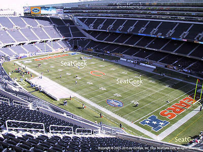 2 Angeles Chargers vs Chicago Bears Tickets 10/27 Corner End Zone SOLDIER FIELD