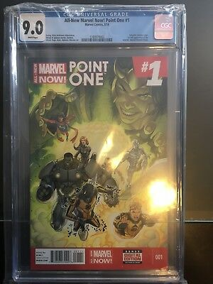 Marvel Now Point One 1st Full App Of Kamala Khan As Ms Marvel CGC Grade 9.0