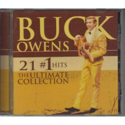BUCK OWENS 21 #1 Hits The Ultimate Collection CD Europe Rhino 2006 21 Track