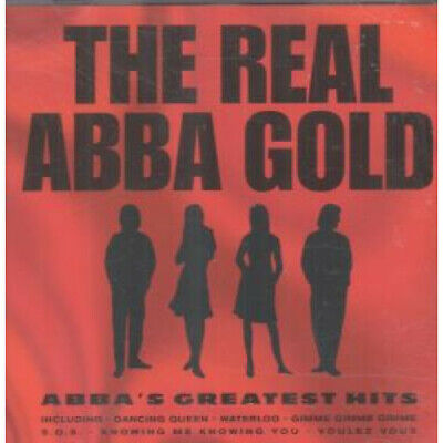 REAL ABBA GOLD Abba's Greatest Hits CD Germany Pegasus 2000 15 Track (Pegcd336)
