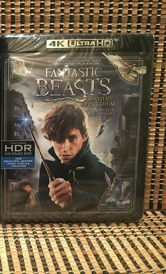 Fantastic Beasts and Where to Find Them 4K (2-Disc Blu-ray, 2017)Harry Potter 9.