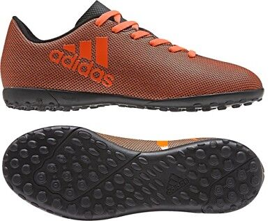 brand new 01550 098ff Adidas X 17.4 Tf Enfants Chaussures de Football, à Crampons Multiples,