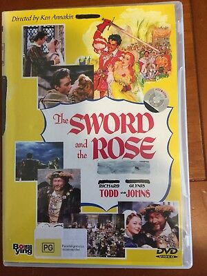 The Sword and the Rose (1953) - Richard Todd, Glynis Johns