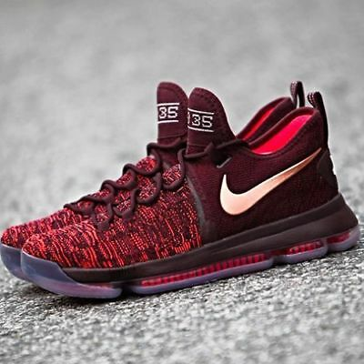 ec430acc9f01 Nike Zoom Kd9 Xmas Men Size 10.5 Sauce Bronze 852409 696 Kevin Durant Gs  Warrior