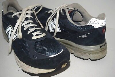 outlet store 6f7b5 c18e1 NEW BALANCE 990 Running Shoes Navy Mens Heritage Collection Sz 12.5 D USA  M990
