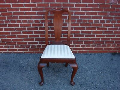Henkel Harris Solid Cherry Queen Anne Style Dining Side Chair #1