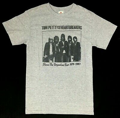 Tom Petty And The Heartbreakers DAMN THE TORPEDOES TOUR T-Shirt NWT Licensed