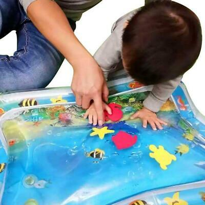 Inflatable Baby Water Mat Baby Tummy Time Playmat Toddler  Fun Activity Play Toy