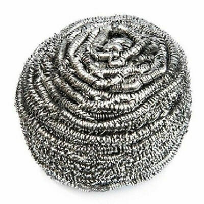 Stainless Steel Metal Scourers - Pot Scrubbers Professional Quality 40g Pack