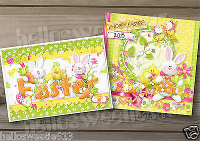 1-10 Quality Eggstra Special Easter Greeting Cards Various Designs Bright Neon