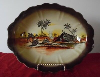 ANTIQUE AJ WILKINSON SERVING BOWL..HOMELAND SERIES AFRICA..c1927