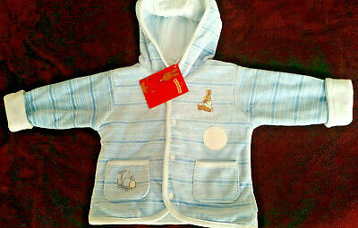 NWT  VINTAGE BUNNYKINS BY ROYAL DOULTON  BABY BOY REVERSIBLE JACKET size 00