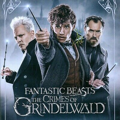Fantastic Beasts: The Crimes of Grindelwald 2018 PG-13 fantasy movie, new DVD