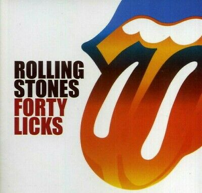 Forty Licks by The Rolling Stones (CD, Sep-2002, 2 Disc's, Virgin)