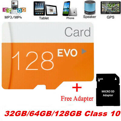 32GB 64GB 128GB SD/TF Flash Memory Card Class 10 for iOS Android Phone PC Camera
