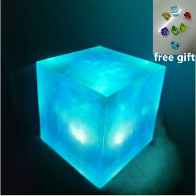 Avengers Thanos Tesseract Cube Universe LED Infinity War Cosplay Props 4/5/6.5cm