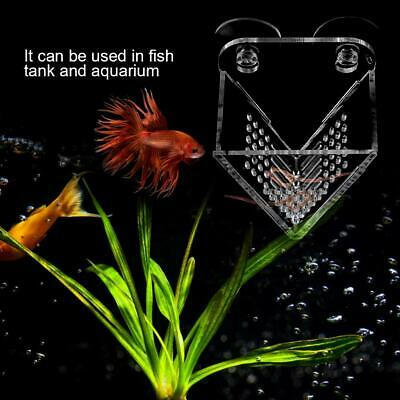 2019 Aquarium Basket Feeder Fish Food Live Worm Bloodworm Cone with Suction Cups