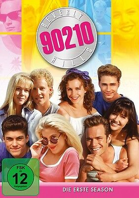 Beverly Hills 90210 Season 1 Mb  6 Dvd Neuf Jennie Garth/ian Ziering/+