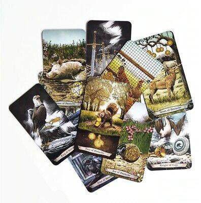 New Animal 78 Tarot Cards Board Game For Family New Design Game English Edition