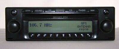 Becker DTM BE 7802 GPS Navi RDS Doppeltuner Radio CD-Player GS
