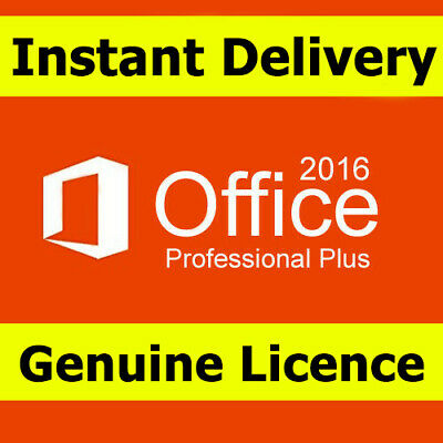 🔥MICROSOFT OFFICE 2016 WINDOWS HOME & STUDENT Professional PRO for 1PC Lifetime