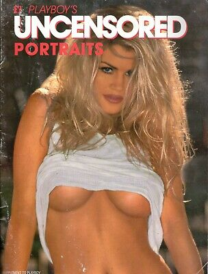 Playboy's uncensored portraits supplement mens adult glamour magazine