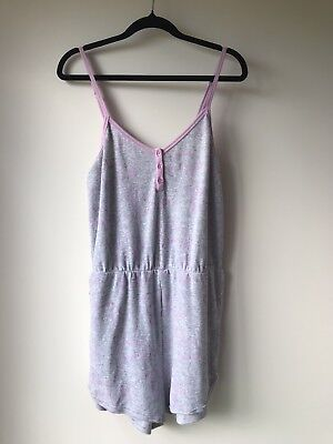 BRAND NEW PETER ALEXANDER Womens ROMPER Size Large RRP $79.95