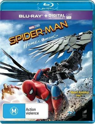 Spider-Man - Homecoming (Blu-ray, 2017), NEW SEALED AUSTRALIAN RELEASE