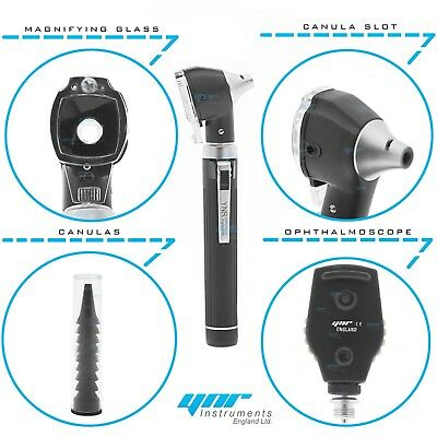 Ynr Otoscope Ophtalmoscope Ophtalmoscope Led F.O Ent Examen Diagnostique Set