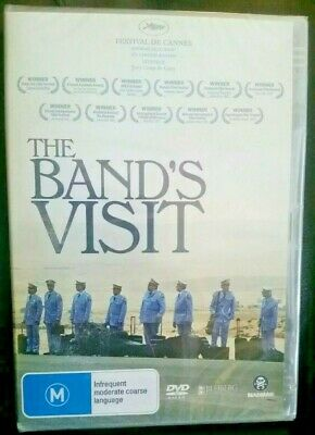THE BAND'S VISIT GENUINE REGION 4 DVD English/Arabic/Hebrew NEW SEALED RARE OOP