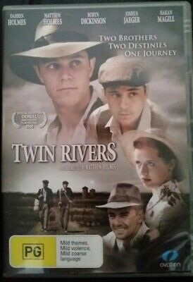Twin Rivers =South Australian Drama Movie Genuine R4 Dvd Rare Oop Deleted As New