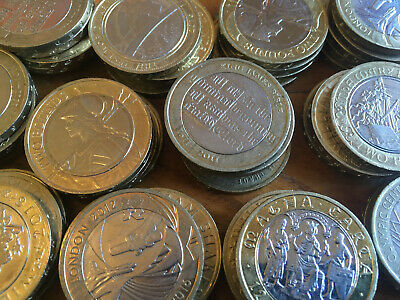 £2 Coins Circulated Two Pound Royal Mint British Coin Hunt - Various Designs