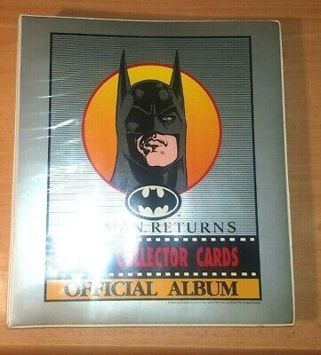 Batman Returns 1992 Official Album + Collector Cards