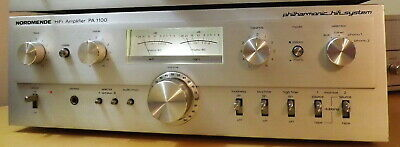 Nordmende Pa-1100 Vintage Stereo Amplifier