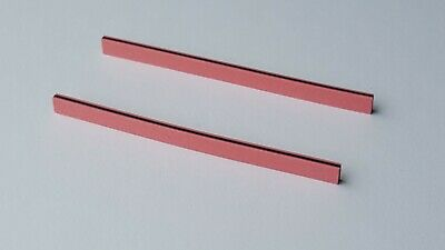 Two Zebra Strips 70 x 4.5 x 2 mm (LxHxW) for LCD Elastomeric Conductive Rubber