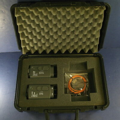 Fluke DSP FOM FOS 850/1300 1550, 1300, 850 set, Excellent, Foam Lined Case