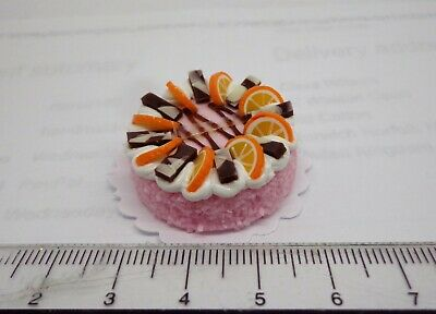 1:12 Scale Dolls House Miniature Hand Made   Cake  G