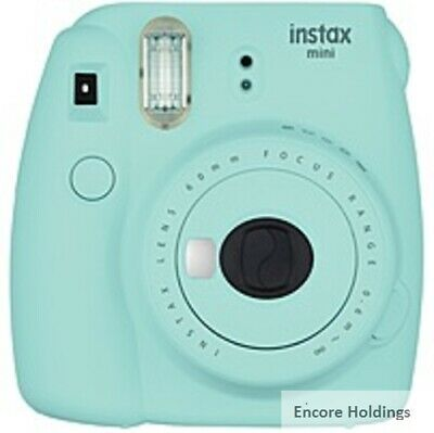 16550643 Fujifilm Instax Mini 9 Instant Film Camera - Instant Film - Ice Blue