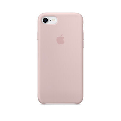 Funda para iPhone 7/8 Apple Silicone Case MMWF2ZM/A silicona rosa arena