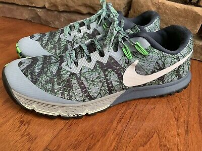 df2f1e7907f4c Men s Nike Air Zoom Terra Kiger 4 Trail Running Shoe Forest Camo 880563-400
