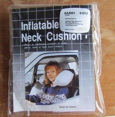 Inflatable Neck Cushion Support - ideal for tired traveller or relaxing at home