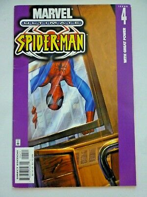 Ultimate Spider-Man 4 Marvel Comics With Great Power 2001