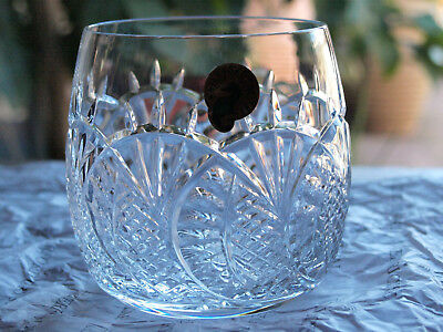 Waterford Crystal Seahorse Tumbler Double Old Fashioned New Rare