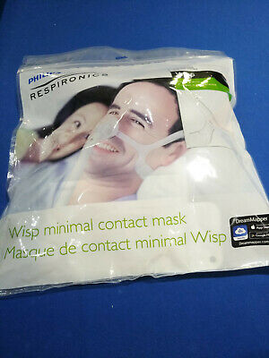 Philips Respironics Wisp CPAP mask. Clear Frame. Fit pack. All cushion sizes.