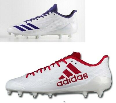 35815cb06 Adidas Adizero 5-Star Low Molded Football Cleats Red   Blue Sizes 13.5