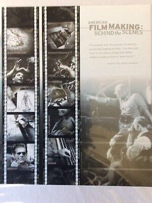 US Stamps SC#  3772 American Film Making sheet of ten 37 cent MNH 2003