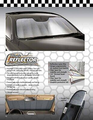 R-FD-83 Ultimate Reflector™ Best Custom Auto Sun Shade for Ford F-150 2004-2008