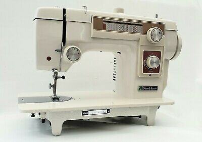 Janome New Home Auto Semi Industrial Sewing Machine,Heavy Duty Work & Patterns