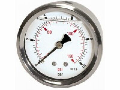 PRESSURE LINE Glyzerinmanometer G 1/4 rücks. ¢ 63 mm 0-4 bar   805-CDE