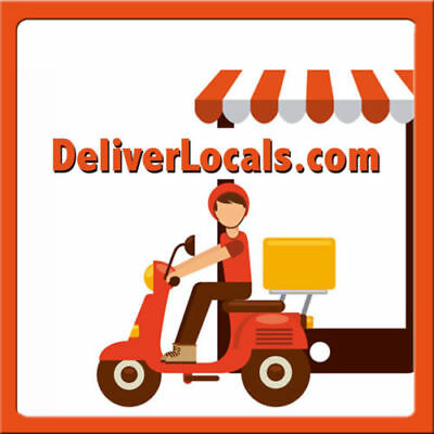 DeliverLocals.com PREMIUM Food Delivery/Restaurant Industry Domain Name, WOW $$